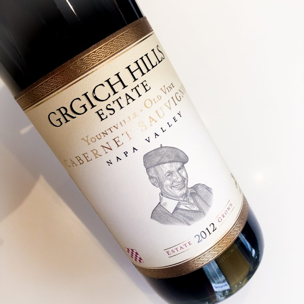 Grgich Hills Estate Yountville Napa Valley Old Vine Cabernet Sauvignon from Trialto