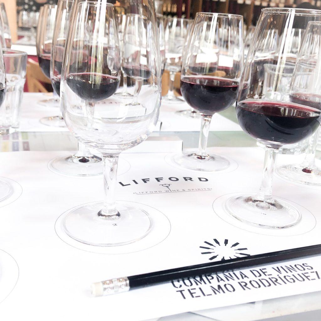 Tasting through the Telmo Rodriguez Spanish wine landscape at Metrovino in Calgary