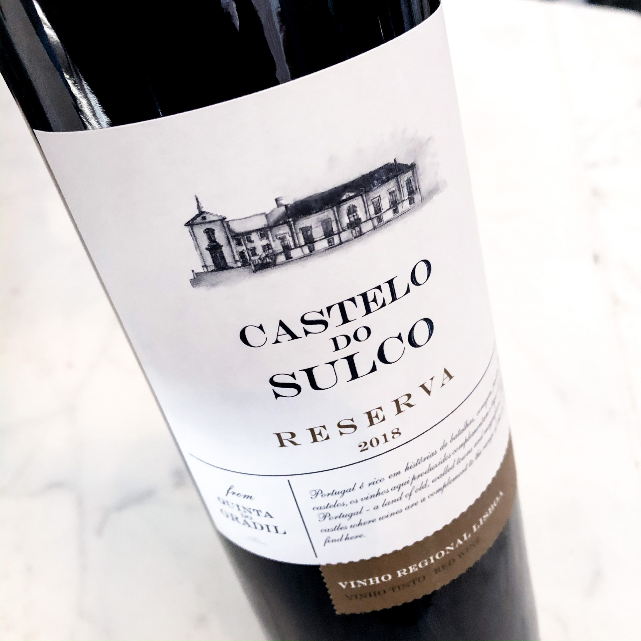 Castelo do Sulco Reserva Red 2018