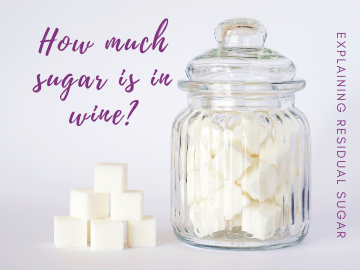 how much sugar is in wine?