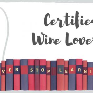 certified wine lover