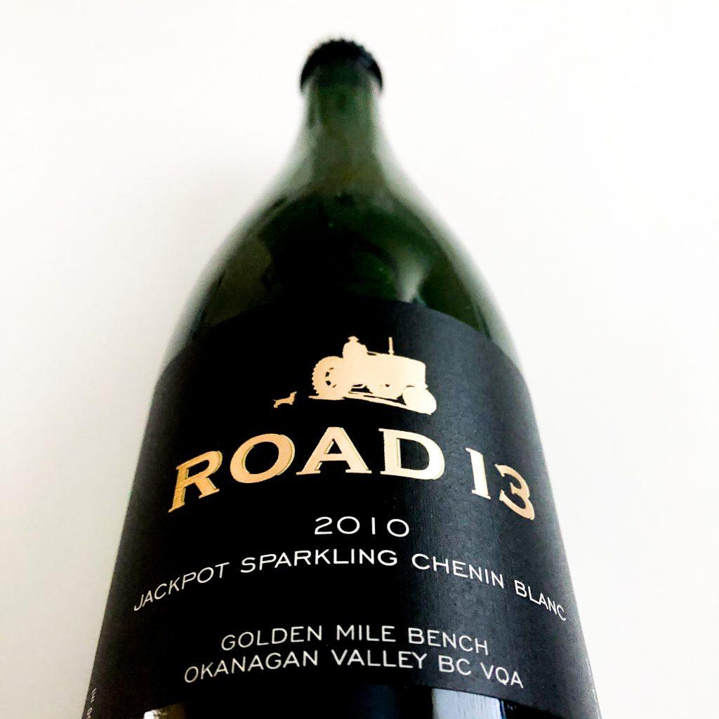 road 13 jackpot sparkling Chenin Blanc