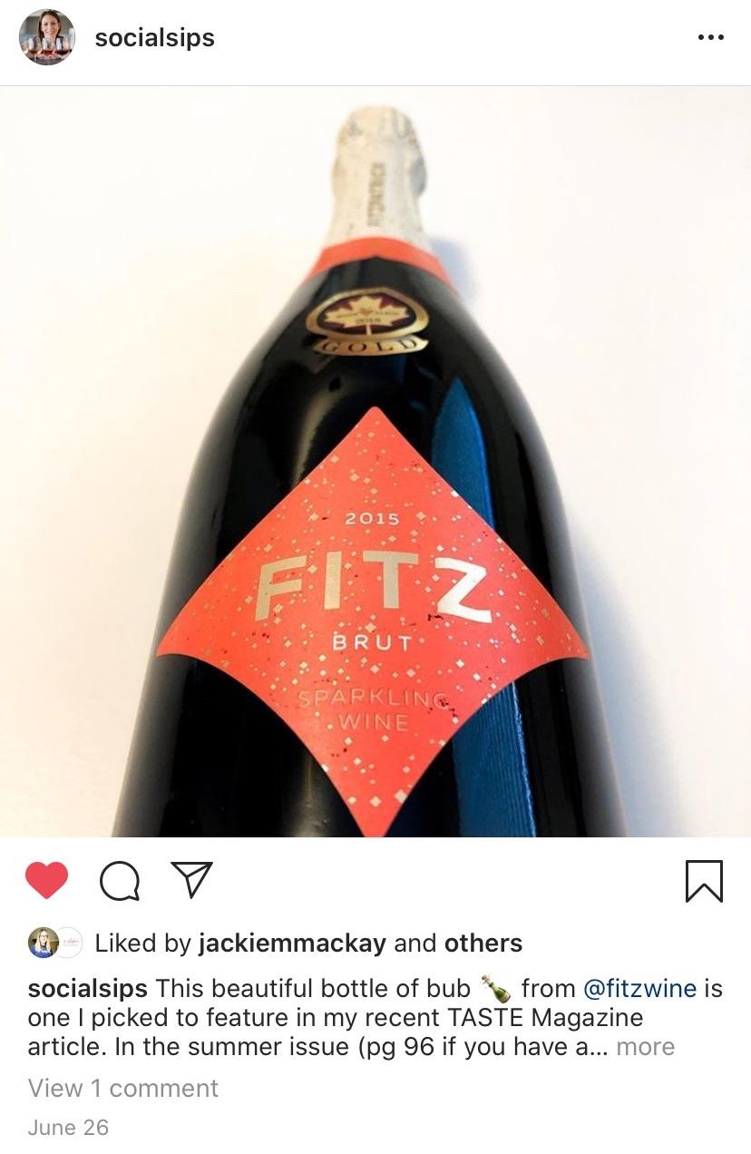 Best BC Wines of 2020: Fitz Brut